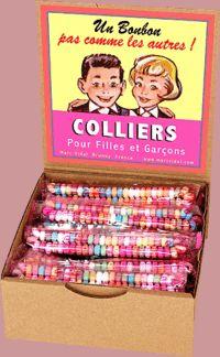 Collier de bonbons