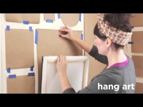 Ou comment composer un joli mur de cadres