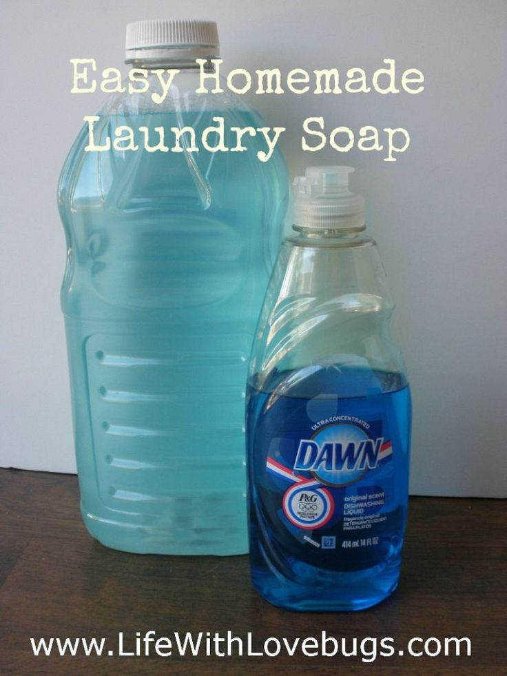 152 best dawn dish soap images on pinterest cleaning tips diy no grate liquid laundry detergent solutioingenieria Image collections