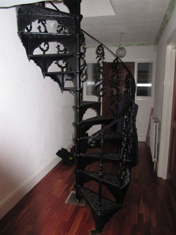 17 Best Antique Spiral Stairs Images On Pinterest