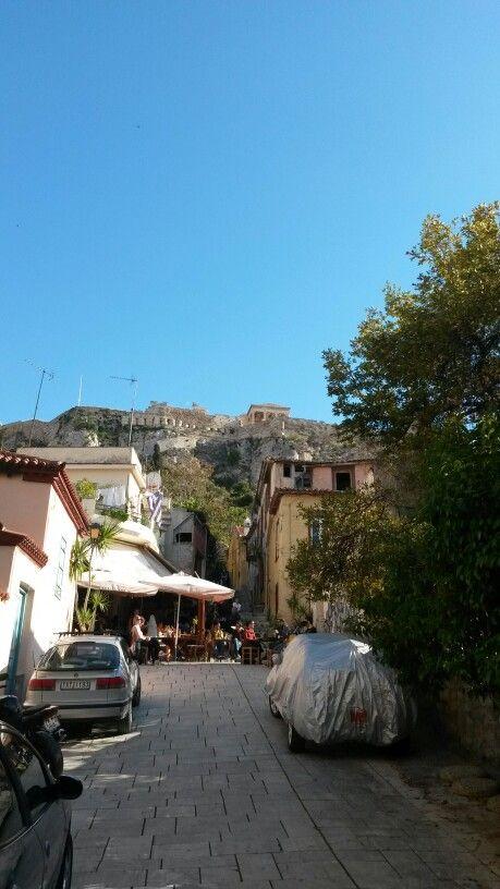 Anafiotika,Athens,Greece