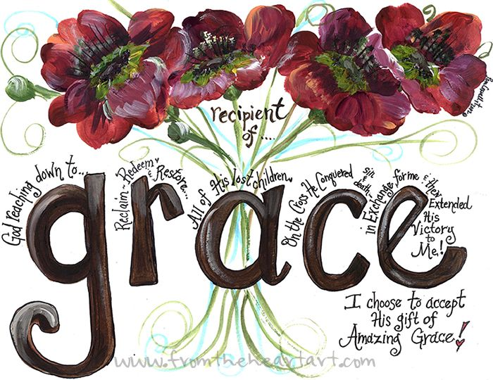 Floral: Grace Red Poppies Print
