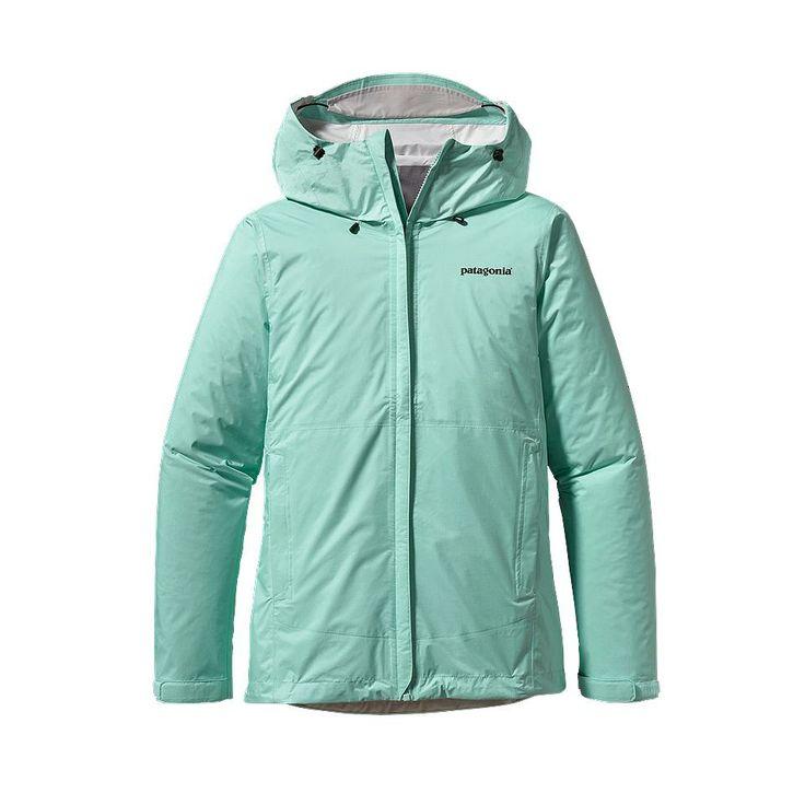Love this color!!!! Color: Polar Blue (PLRB-050)   Patagonia rain jacket