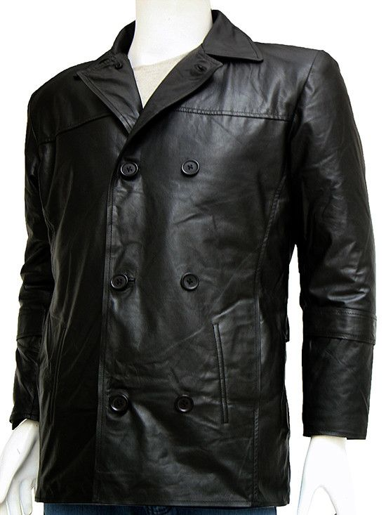 "Here's an exact replica of the Leather jacket that Liam Neeson wore when playing the role of Bryan Mills in the movie ""Taken"". Extreme level attention has been given to the details in this jacket to a"
