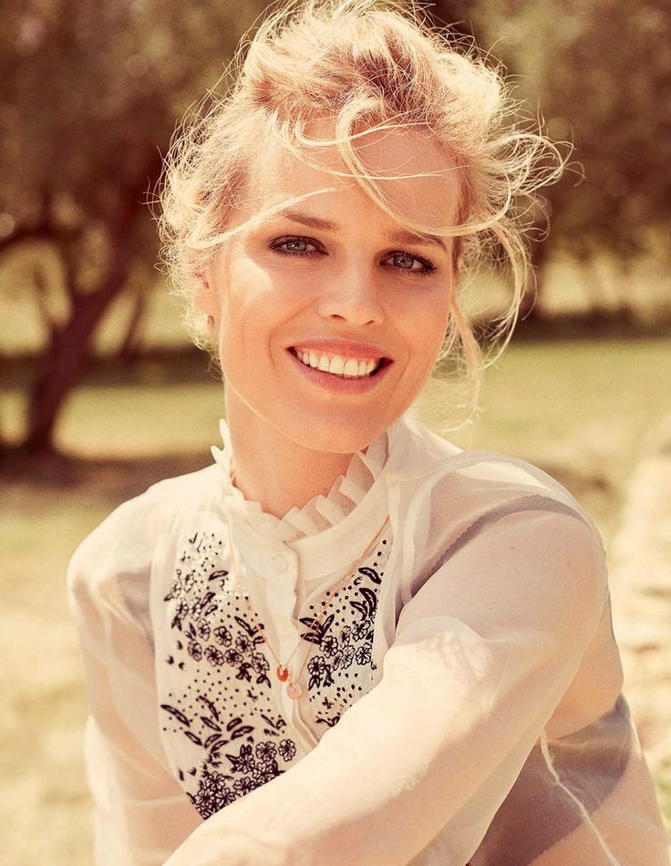 Eva Herzigova by David Burton for Elle Italia August 2015