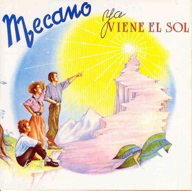 "Mecano - ""Ya viene el sol"" 1984. Ana Torroja.."