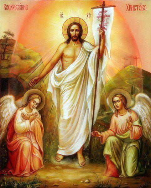 Ressurection Jesus Christ Angels