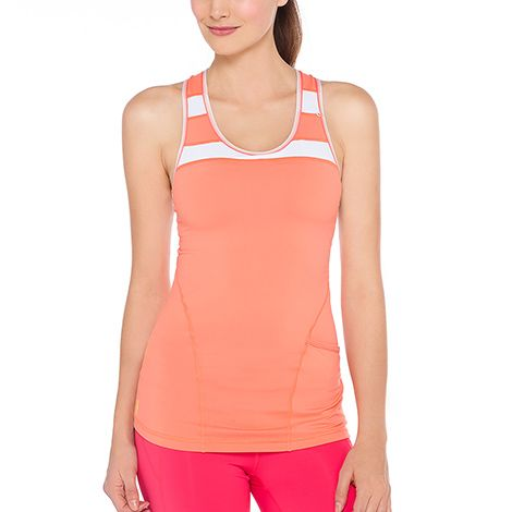 Lolё Tops: Riau tank for running and fitness at lolewomen.com