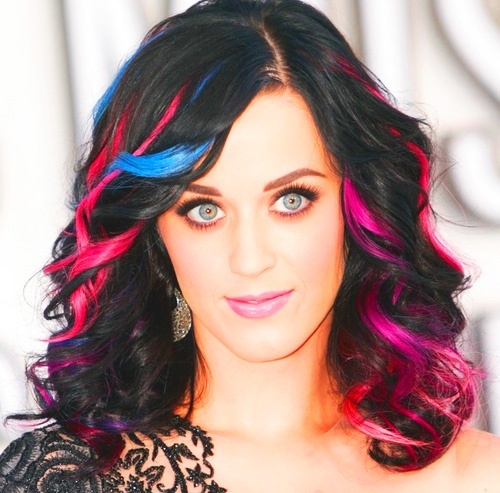people i think are cool- Katy Perry.  she also has awesome hair