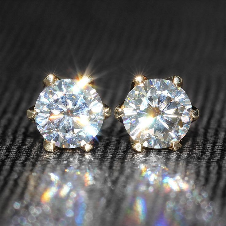 Cool Diamond Earrings Find More Stud Earrings Information about Genuine18K 750 Yellow Gold 1 Carat ct ... Check more at http://24shopping.tk/fashion-clothes/diamond-earrings-find-more-stud-earrings-information-about-genuine18k-750-yellow-gold-1-carat-ct/