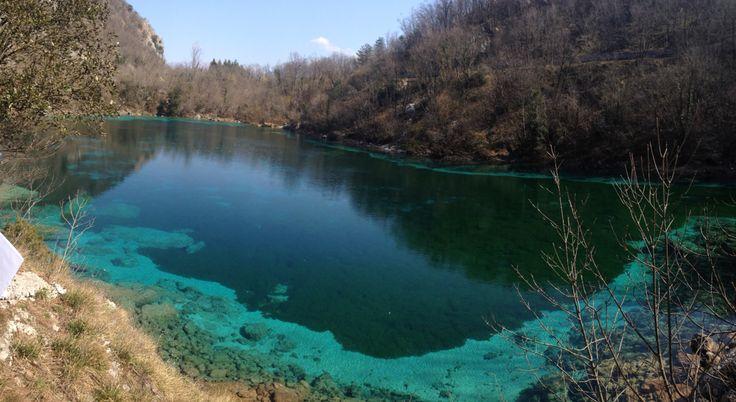 A lake near Ragogna, IT - March 2015