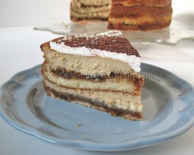 Tiramisu Cheesecake #cheesecake #recipe