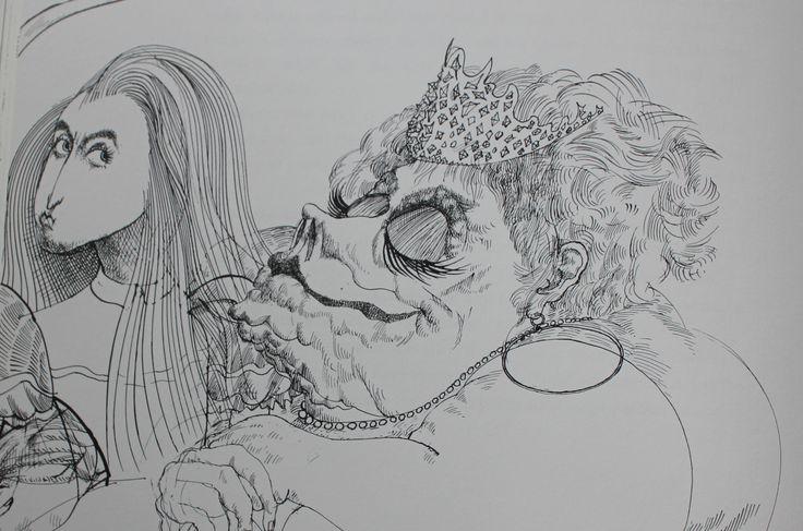 Ralph Steadman's Alice illustration