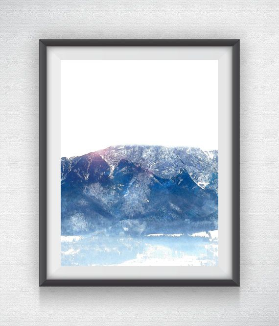 Tatry Mountain  Variation 1 by AustinGFarmer on Etsy