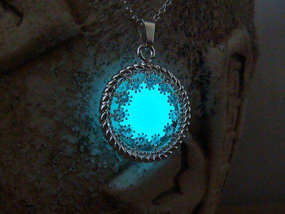 Cirkel met kristallen ketting gloeiende Circle door MadamIris