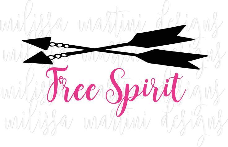 Free Spirit SVG Cut File | Design Bundles