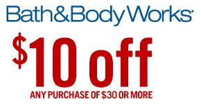BATH & BODY WORKS $$ Reminder: Coupon for $10/$30 Purchase – Expires SUNDAY (11/24)!