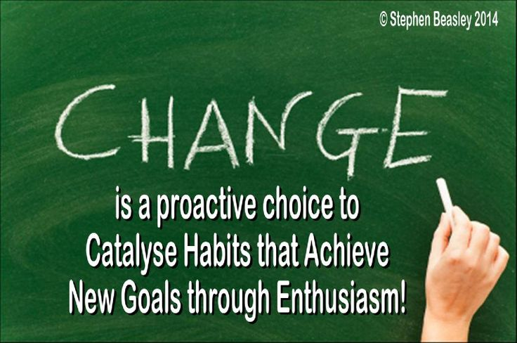 Change is a attitude to redirect your life, so that you achieve your life's dreams!