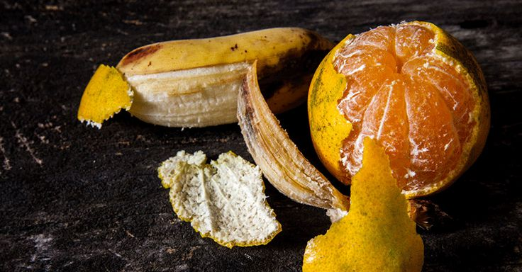 Why You Should Never Throw Away Orange or Banana Peels -