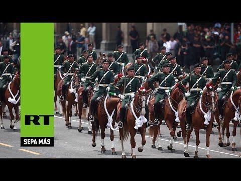 Día de la Independencia: Así fue el gran desfile militar en México - YouTube