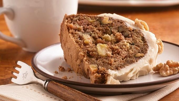 Chunky Apple Cake with Browned Butter Frosting | Recipe