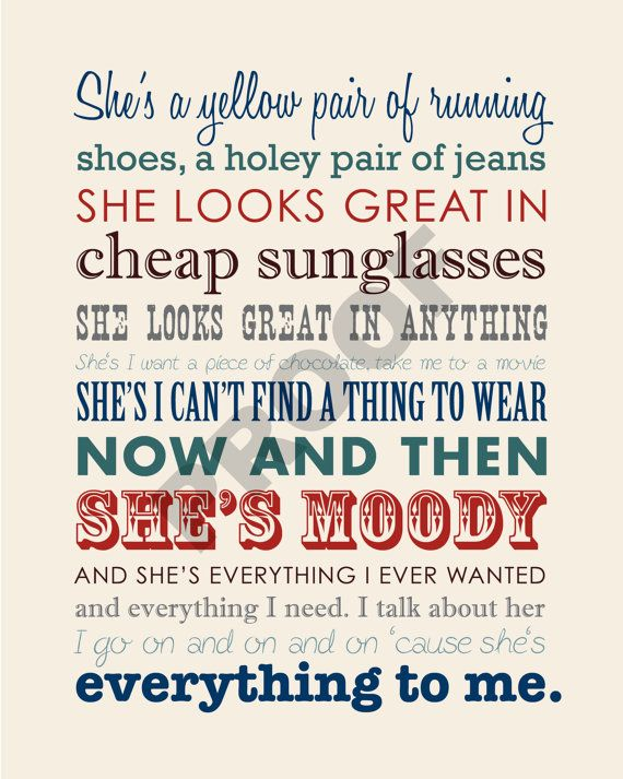 She's Everything by Brad Paisley Lyrics - YouTube