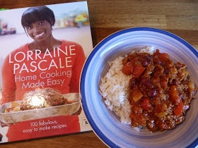 Lorraine Pascale's recipe for chilli con carne, the best chili I have ever tasted, and so easy to make
