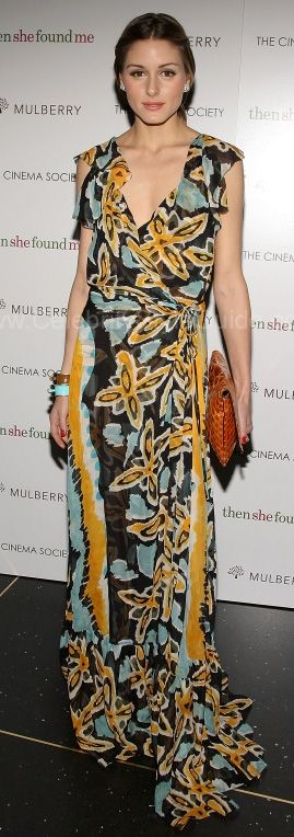 Olivia Palermo Style and Fashion - Diane Von Furstenberg Maupiti Dress - Celebrity Style Guide