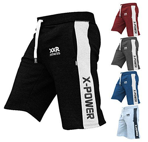 XXR x-Power Mens Fleece Shorts Jogging Bottom Joggers MMA Boxing Gym Fitness Sweat Shorts Casual Home Wear
