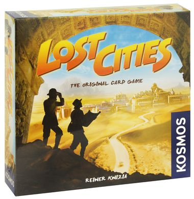 Lost Cities Card Game - Card