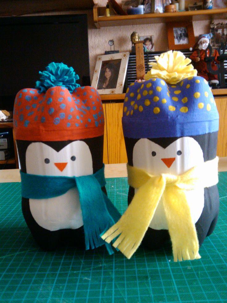 Pinguinos Hechos Con Botellas | MEJOR CONJUNTO DE FRASES