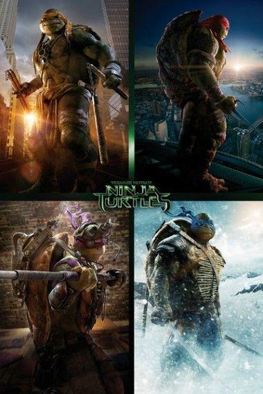 Wojownicze Żółwie Ninja Mix - plakat