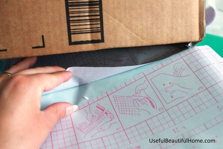 The best tutorial for wrapping a cardboard box with contact paper - can use felt, wrapping paper, etc. If there's no adhesive on the material used to cover the box, then cover the box [or material] with modge podge or double sided tape