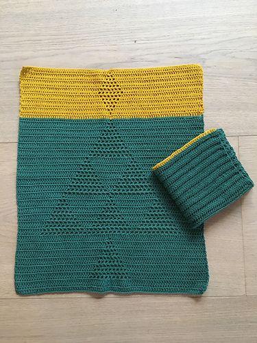 Ravelry: Annalindbjerg's Juleharlekinshåndklæde