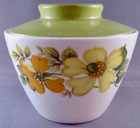 Vintage Ironstone Bowl Yellow