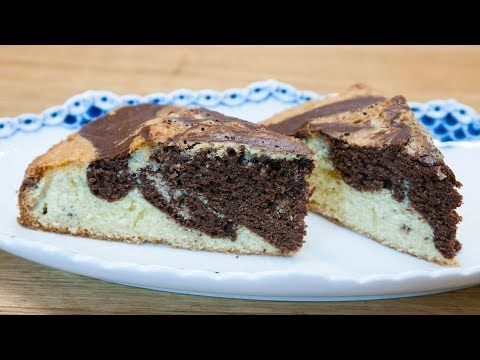 Marble Cake In Small Spring Form - www.kvalifood.com