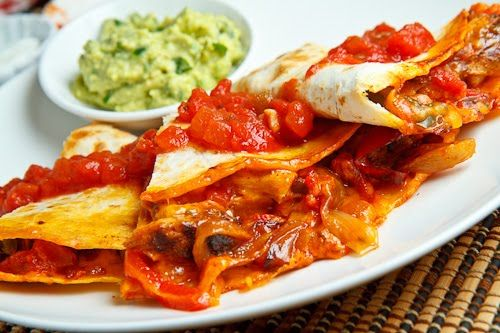 Clean Chicken Fajita Quesadillas! I'll personally use HOMEMADE organic ...