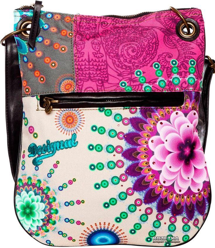 Colourful Flower Desigual Bag