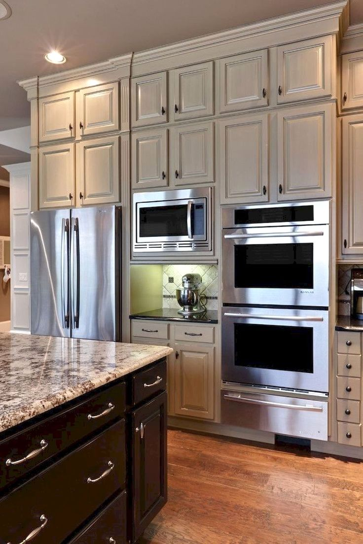 Cabinets All The Way To The Ceiling Traditional Kitchen Remodel Kitchen Cabinet Design New Kitchen Cabinets