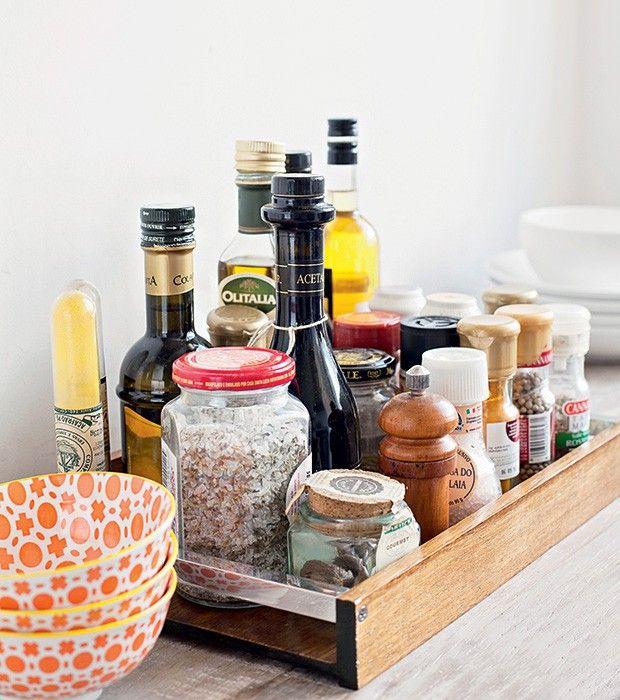 14 ideias para uma cozinha organizada