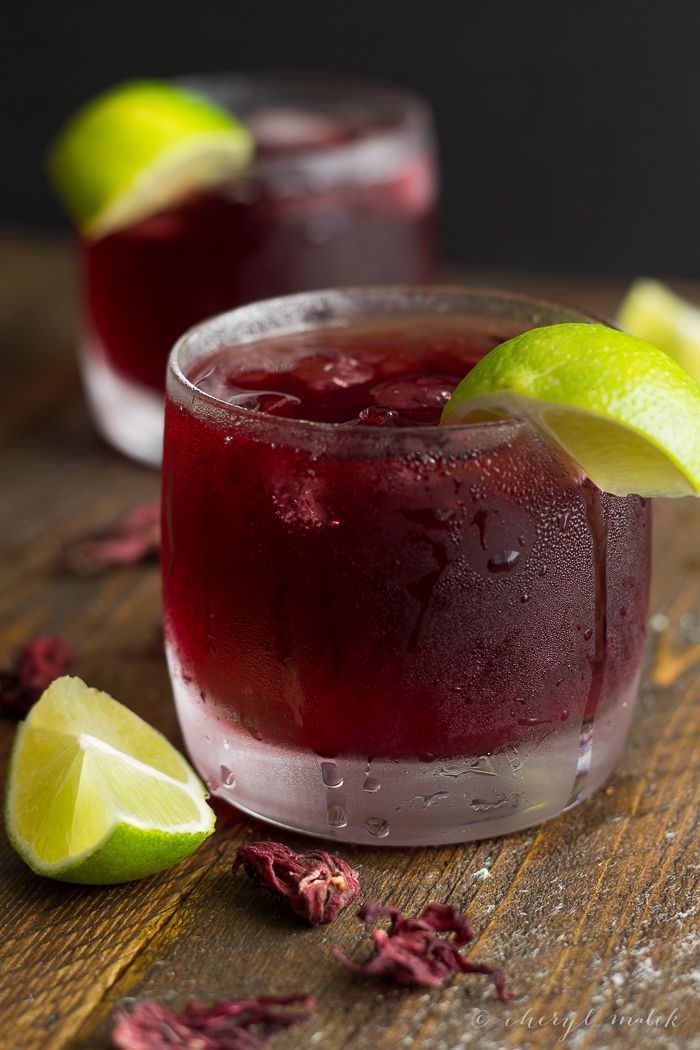 17 best ideas about hibiscus tea on pinterest iced tea for Cocktail hibiscus