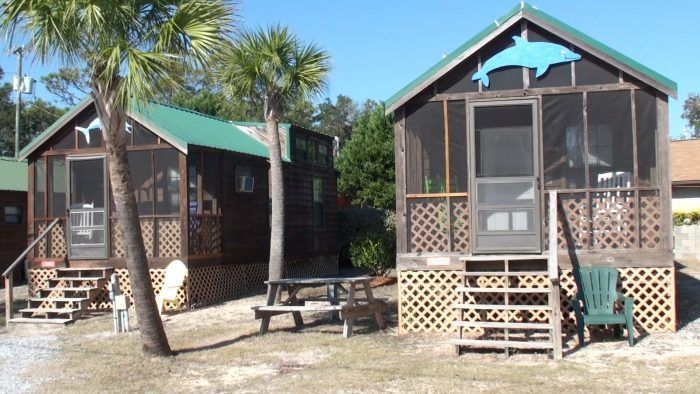 Cabins at Navarre Beach Campground