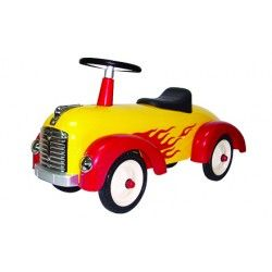 Metal yellow speedster. Great gift for kids |Free Delivery in Australia at Red Wrappings|