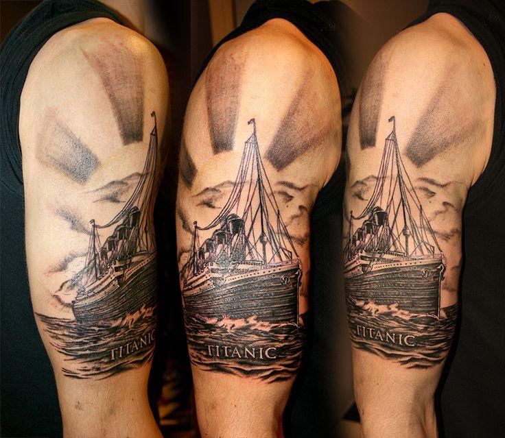 One Line Body Art : Titanic tattoo the forbidden line studio artist