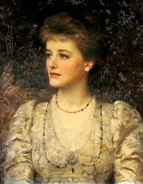 Sir Frank Dicksee - Lady Palmer