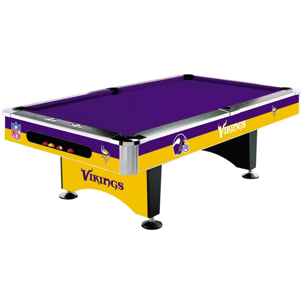 Attractive If You Love The Purple People Eaters This NFL Pool Table Was Made For You