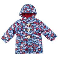 Floral Fleece-Lined Fisherman's Jackets D2336