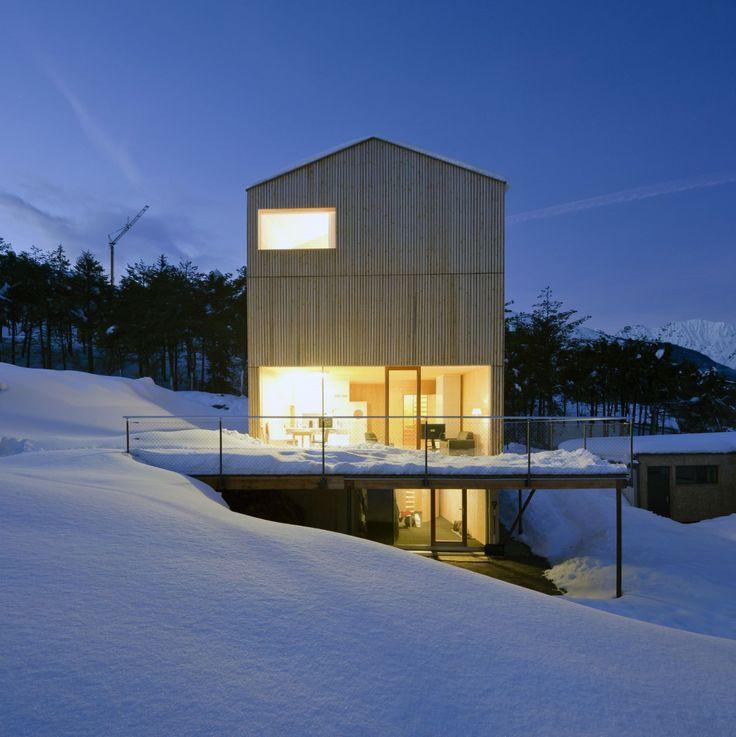 17 besten madritsch pfurtscheller architekt bilder auf for Holzhaus wohnhaus