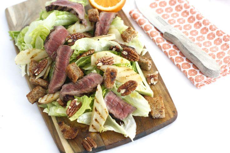 Voor de combi van deze salade ben ik geïnspireerd door tv-kok Casper, die tijdens de opnames van ons derde optreden bij Koffietijd een Hollandse salade met pee