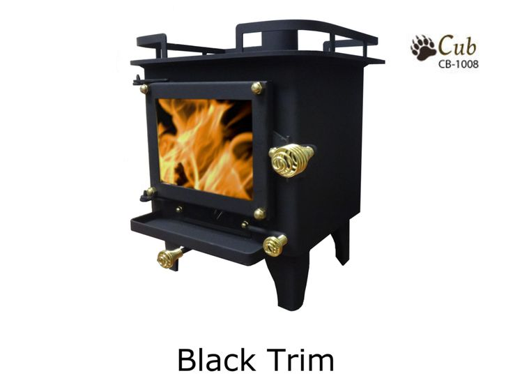 Available in brass or black trim Mini cook stove designed to be used in boats, cabins and RV's Designed to heat spaces from 100 to 200 square feet Durable! Constructed from laser cut steel plate 1/8 to 3/16 thick! Produces 6000 to 14000 BTU's! Insulation and glass made of ceramic. Easy to install and easy to operate! Measures only 11 x 12 x 10.5! 3-inch flu pipe diameter Eco-friendly Produces very little smoke due to its secondary combustion system! Much safer than a diesel ...